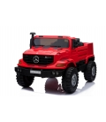 Mercedes Benz Zetros červené